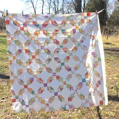 Confessions of a Fabric Addict: Nifty Nines Quilt-Along - Daisy Chain! Tutorial