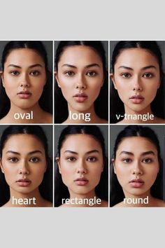 There is nothing wrong with any of these facial shapes, of course. However, different facial shapes change entirely the balance of our features and can be tweaked and harmonised by a very clever and experienced cosmetic injector * For example, square jaws (rectangular faces), can often be elongated, or rounded using masseter botox. Flatter chins eg heart shaped faces, can be made oval and elongated to balance the rest of the face. Flat or round faces, can have structure sculpted into them… Cheek Fillers, Dermal Fillers, Chin Filler, Botox Before And After, Collagen Lips, Face Structure, Lip Augmentation, Curtain Bangs, Oval Faces