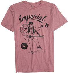 Imperial Motion-one man band tee. http://www.swell.com/New-Arrivals-Mens/IMPERIAL-MOTION-ONE-MAN-BAND-SS-TEE?cs=MA