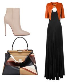 """""""Untitled #164"""" by amna-hakeem on Polyvore featuring Akira Black Label, Fendi, A.L.C. and Richards Radcliffe"""