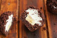 Maulwurfhügelchen / Maulwurf-Cupcakes