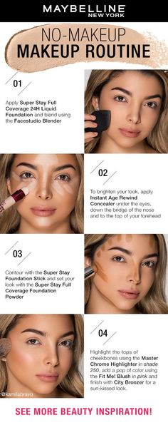 step by step guide to eye makeup \ eye makeup guide step by step - step by step guide to eye makeup - make up guide step by step eye makeup - eyeshadow brushes guide step by step eye makeup Makeup Tutorial Step By Step, Makeup Looks Tutorial, Makeup Tutorial Foundation, No Foundation Makeup, Learn Makeup, How To Apply Makeup, No Make Up Makeup, How To Contour Your Face, Simple Makeup Looks