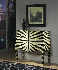 Animal print chest