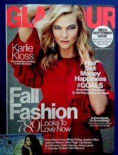 Glamour Magazine Karlie Kloss Mega September Issue 2015 Fall Fashion 380 Pages   eBay