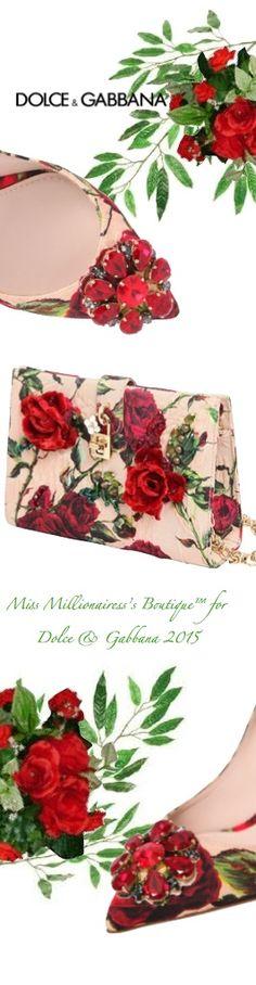 Dolce | Gabbana 2015 - Miss Millionairess's Boutique™