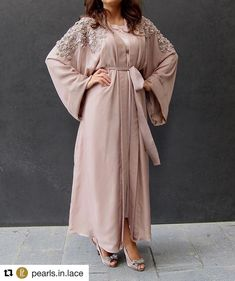 #Repost @pearls.in.lace with @repostapp Nude Abaya with Roses on top !! #Newshade added to our collection! Pure silk with chiffon lining roses and lace work on both shoulders! Available for orders ! For more info contact us on Whatsapp! عباي بيج مع تفاصيل من الدانتيل و الورد! الخامه حرير طبيعي مع بطانه من نفس الخامه متوفره للطلب لمزيد من التفاصيل الرجاء التواصل على الواتساب . SUBHAN ABAYAS share it more then 1700 Abayas Designs. Follow @SubhanAbayas @SubhanAbayas @SubhanAbayas #SubhanAbay