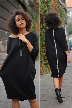 Sukienka Black Stripe