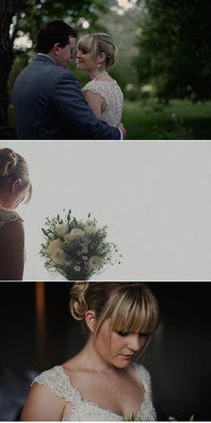 wedding hair with bangs!