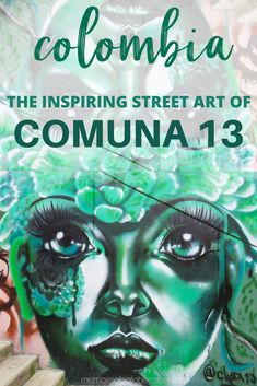 Comuna 13, once Medellin's most dangerous neighbourhood, has been transformed into a vibrant and thriving community through street art and innovative transportation. Taking a guided tour of Comuna 13 is the best way to learn about its history! #Medellin #Colombia #streetart #southamerica