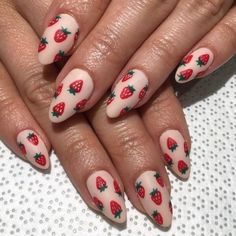 Cute summer fruit acrylic nails We've cherry-picked the most beautiful summer nails designs to choose the bright summer nails which, perfectly suit you from this beautiful nails list! Cute Summer Nail Designs, Cute Summer Nails, Cute Nails, Pretty Nails, Nail Summer, Cute Nail Art Designs, Cute Acrylic Nails, Acrylic Nail Designs, Gel Nails