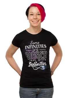 Infinities Babydoll    Awesome! Hot Topic has this as a tank top, but this t-shirt from ThinkGeek is pretty great too!