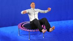 6 Minuten Power Workout auf dem bellicon® Trampolin von Remy Draaijer