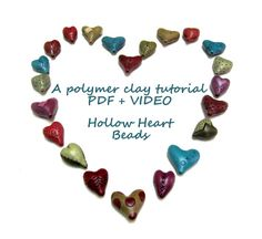 Polymer Clay Tutorial How To Make Hollow by OrlyFuchsGalchen