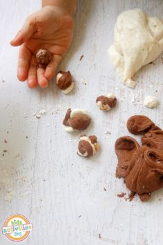peppermint patty play dough