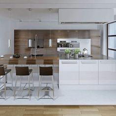piston-led Coin Bar, Table Haute, Best Kitchen Designs, Cuisines Design, Cool Kitchens, Inspiration, Furniture, Home Decor, Lorraine
