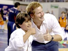 Prince Harry Visits Brazil: Day 2.