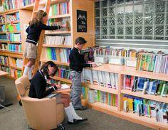Espacios accesibles y cómodos que inviten a la lectura #lectura #bibliotecas