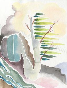 beat bach watercolor