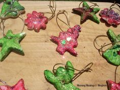 Christmas Microwave Salt Dough Ornaments ...toddlers to teenagers will  love making these! Mummy Musings and Mayhem