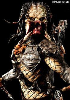 Alien vs. Predator 2: Wolf Predator - Deluxe Statue, Fertig-Modell ... http://spaceart.de/produkte/avp005.php