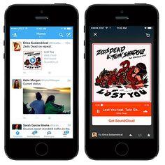 Twitter lance les Audio Cards avec Soundcloud et iTunes #twitter #audio