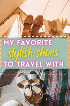 These are the best women shoes for travel that I brought with me for trips this season! I was looking for lightweight and versatile options particularly, a pair of dressier shoes that could take me from day to night, as well as a pair of nice flats for when walking shoes were just not the vibe. I found adorable flats and heels that are good for your feet while traveling. If you're looking for stylish shoes to travel with, this is for you! cute shoes for travel | best heels for travel Travel Pics, Travel Articles, Travel Images, Travel Advice, Travel Pictures, Travel Guides, Digital Nomad, Travelogue, Cheap Travel