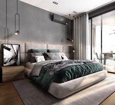 Modern Luxury Bedroom, Master Bedroom Interior, Luxury Bedroom Design, Room Design Bedroom, Bedroom Furniture Design, Modern Master Bedroom, Bedroom Layouts, Home Room Design, Bedroom Styles