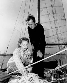 CLASSIC RECREATION: SAILING     Humphrey Bogart and Lauren Bacall aboard the Santana-- a 55-foot schooner built in 1935. Bogart owned the boat from 1945 to 1957. Other owners included Dick Powell and his wife June Allyson, George Brent and Ray Milland. The Santana is still sailing today and is owned by Christine and Paul Kaplan.