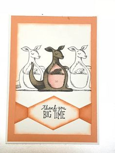 Stampin' Up! Animal Outing from Animal Expedition Suite New Year 2018, Animal Cards, Stamping Up, Safari, Animal Themes, Card Making, Cv, Colours, Stamp Sets