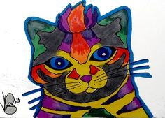 COLORFUL KITTY  ACEO ON EBAY