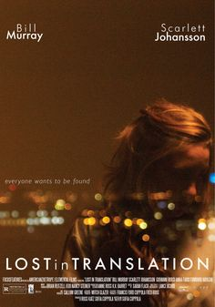 Movie Poster Movement — Lost in Translation by Natalia Ardila