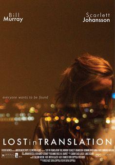 Movie Poster Movement — Lost in Translation by Natalia Ardila