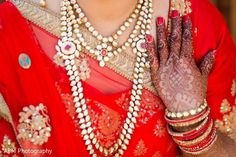 Bridal Jewelry & Mehndi http://www.maharaniweddings.com/gallery/photo/69054 @hennasandiego