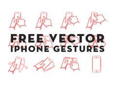 Free vector iphone gestures thanks to Julian Burford on dribbble Web Ui Design, Icon Design, Graphic Design, Mobile App Design, User Interface Design, Web Design Inspiration, Interactive Design, Service Design, Vector Free
