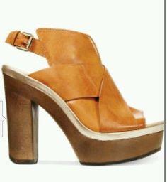 Kenneth cole reaction Womens Best Coast Platform clog mules Sandals 7 1/2 new