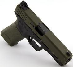 Glock With Art Paint