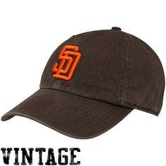 3403da282e7 MLB  47 Brand San Diego Padres 1985 Cooperstown Franchise Hat - Brown by  Twins.