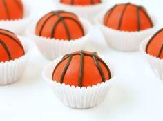 Basketball Cake Balls | A slam dunk recipe!