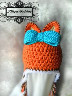 Crochet Fox Hat for Baby Girls and Boys by lilienfeldes on Etsy, $20.00