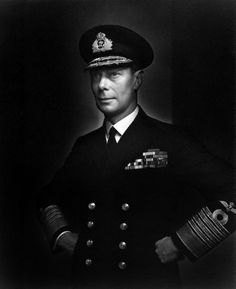 On this day in history 1936, George VI became the King after the abdication - photo taken 1943