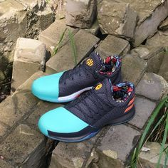011d328affd ADIDAS HARDEN VOL 1 BLACK GREEN WHITE BOOST BASKETBALL SHOES BW1573  adidas   adidasharden  hardenvol1  jamesharden  jharden  adidashardenvol1 ...