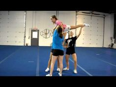 Arabesque Front Walkover Out - YouTube