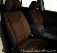 Honda Pilot Special Edition Leather Package - canadaseatskins.com #leather