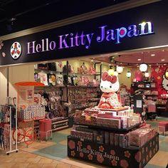 #kittychan in #hanedaairport : welcome to Japan _