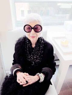 Style & Design Icon: Iris Apfel… There goes Style again, being ageless.