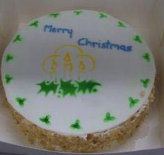 A cake done in a Tafe class.
