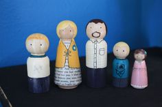 Our family as peg dolls :)