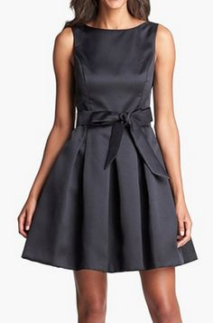 Cute fit and flare dress http://rstyle.me/n/mkin9nyg6