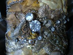 cuffs - textile fantasy arm embellishment --- found in an old trunk in a Versaille attic     $389