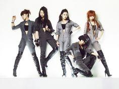4Minute HuH photoshoot